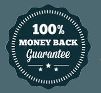100%退款保证